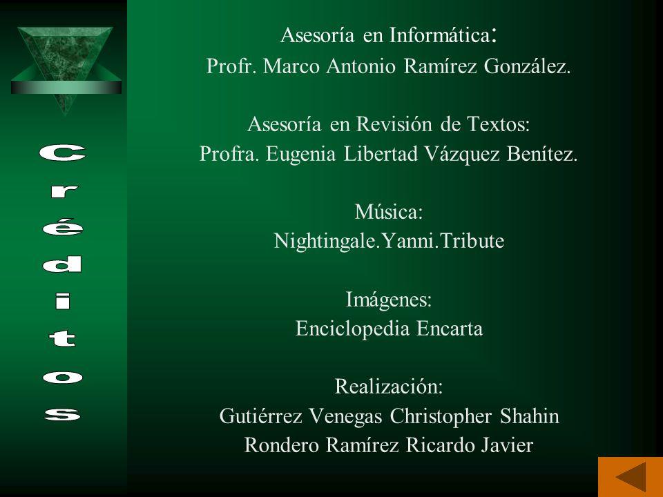 Infante, Hilda. BIOLOGÍA 2. Santillana. México 1997. págs. 158 – 161. Beltrán, Margarita. EL MUNDO VIVO 2. Fernández Editores. México 1999. págs. 175