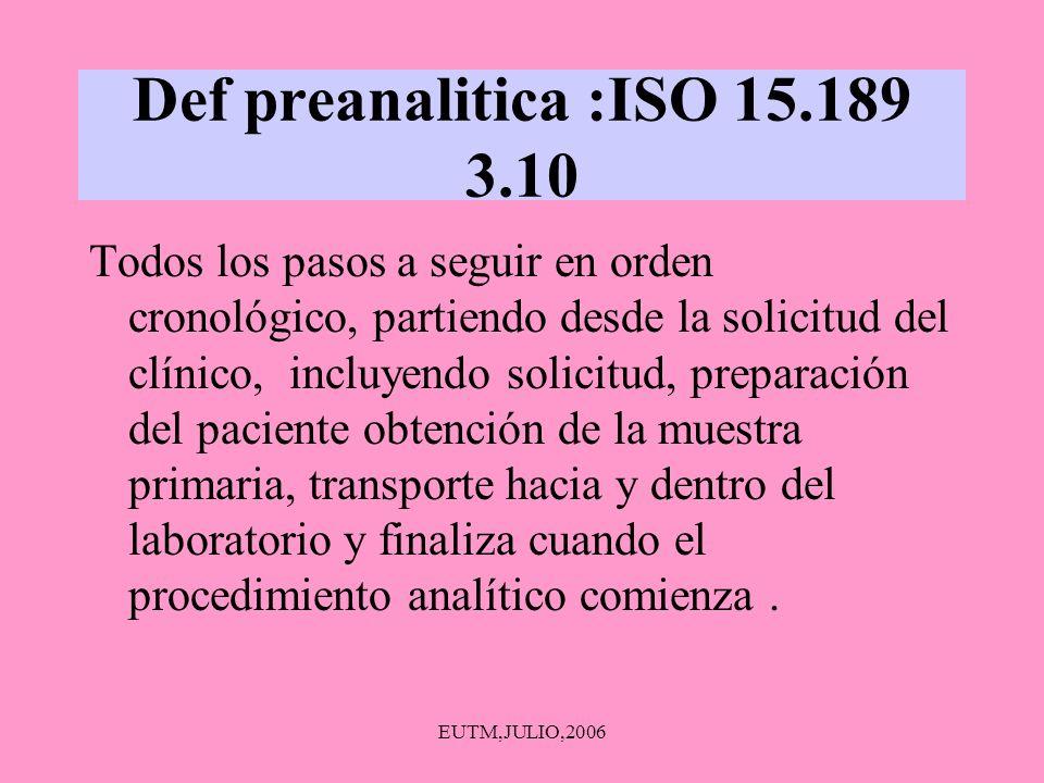 EUTM,JULIO,2006 MEDICIÓN DE VOLUMEN MATERIAL DE VIDRIO VOLUMÉTRICO (CALIBRADO, NO CALENTAR) :PIPETAS,MATRACES AFORADOS, VASOS NO VOLUMÉTRICO- NO CALENTAR A LA LLAMA DIRECTA JARRAS,BOTELLAS,VASOS, MATRACES CLASE A – CAP PIPETAS-AFORADAS:TD-TC(SE SOPLA) GRADUADAS:TD-TC ELEGIR LA ADECUADA TODO EL MATERIAL:SANO, LIMPIO, SECO Y DESENGRASADO