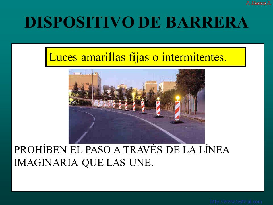 http://www.testvial.com DISPOSITIVO DE BARRERA DISPOSITIVOS DE BARRERA.