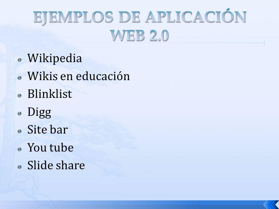 El entorno Web 2.0 está en constante desarrollo.Priman la mejora continua y la innovación.