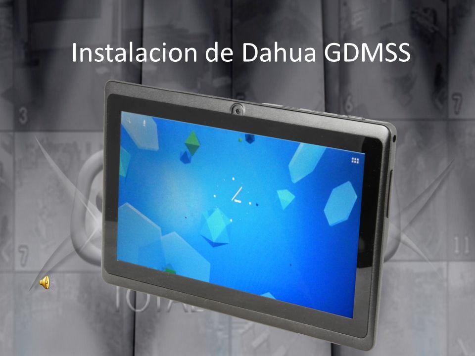 Agregar un dispositivo en la aplicación GDMSS Paso 10 Tasa de Control: Ingresamos el dominio, la ip publica o la ip local (si estamos conectados en la misma red)
