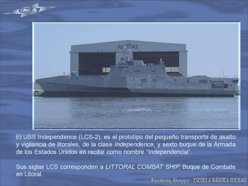 El USS Independence (LCS-2), es el prototipo del pequeño transporte de asalto y vigilancia de litorales, de la clase Independence, y sexto buque de la Armada de los Estados Unidos en recibir como nombre Independencia.