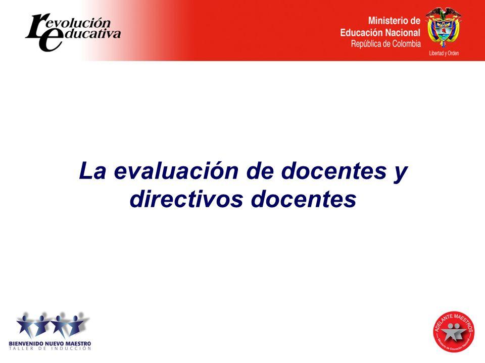 Evaluación Institucional AcadémicaAdministrativa y financiera De la comunidad Directiva Gestiones Art.