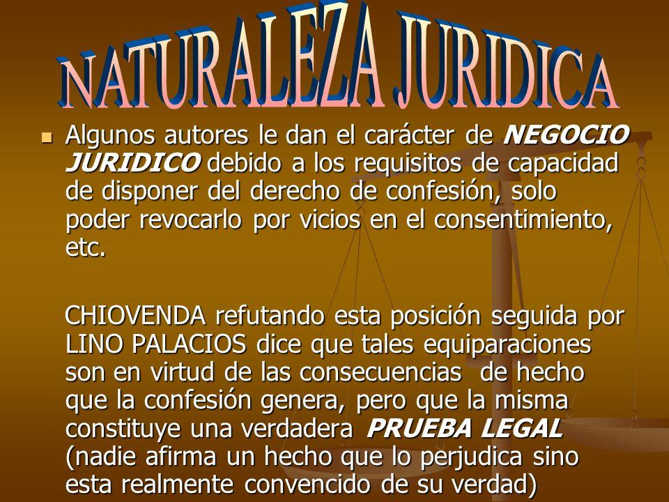 Confesión Extrajudicial Art.425 CPN Art.