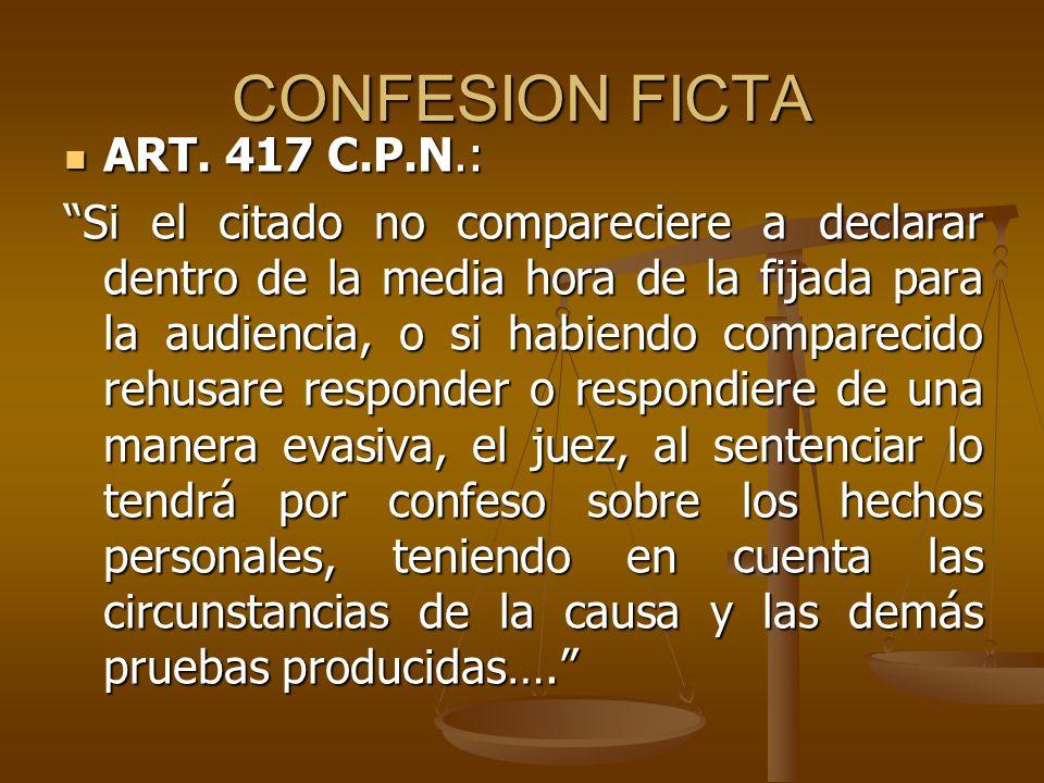 INDIVISIBILIDAD ART.424 C.P.N: ART. 424 C.P.N: … La confesión es indivisible, salvo cuando: 1.