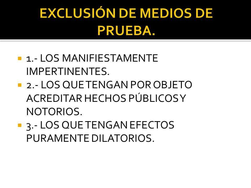 PARTES FORMULAN SOLICITUDES, OBSERVACIONES Y PLANTEAMIENTOS CON RELACIÓN A LOS MEDIOS DE PRUEBA OFRECIDOS POR LAS OTRAS. EL JUEZ SE PRONUNCIA RESECTO