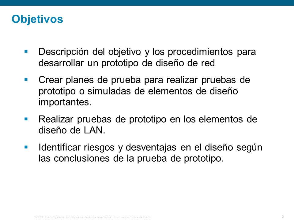 © 2006 Cisco Systems, Inc. Todos los derechos reservados.Información pública de Cisco 23