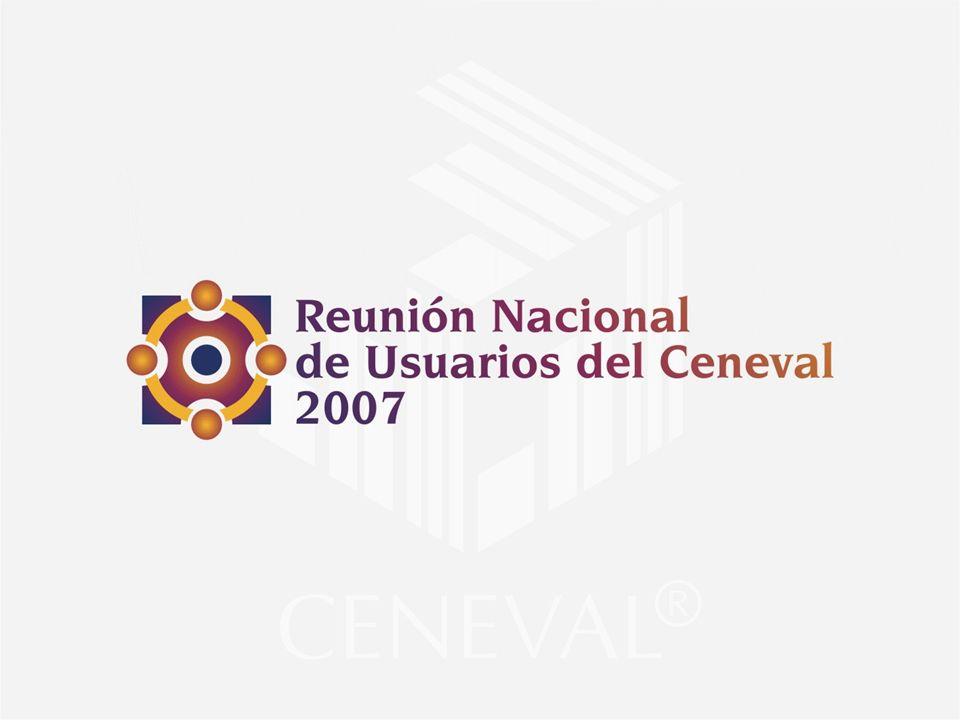Una visión de la evaluación Centro Nacional de Evaluación para la Educación Superior, A.C.