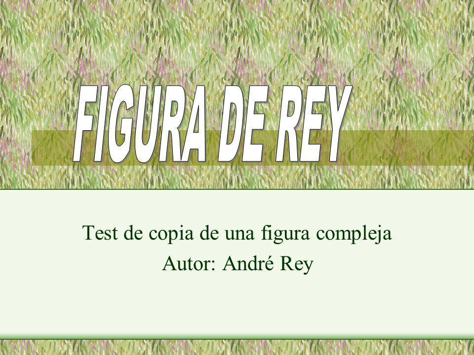 Test de copia de una figura compleja Autor: André Rey Lizbeth Bernat Weibel Nuria Jara Martinez Marta Palanques Prades