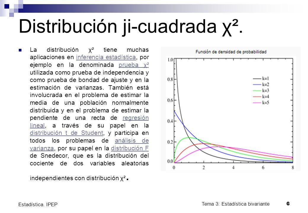 Experimentos con una variable Principalmente empleados en aquellos casos donde la variable sea nominal.