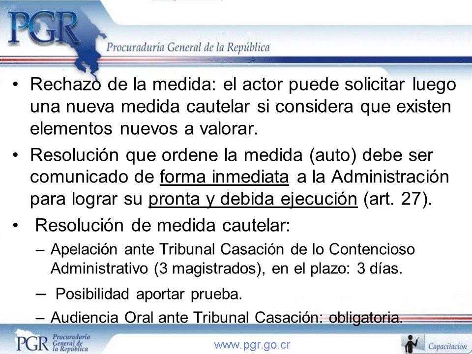 En resumen: En todas las audiencias: PGR requiere colaboración de Administración: testigos, peritos, asesores, informes, inspecciones, criterios, etc.