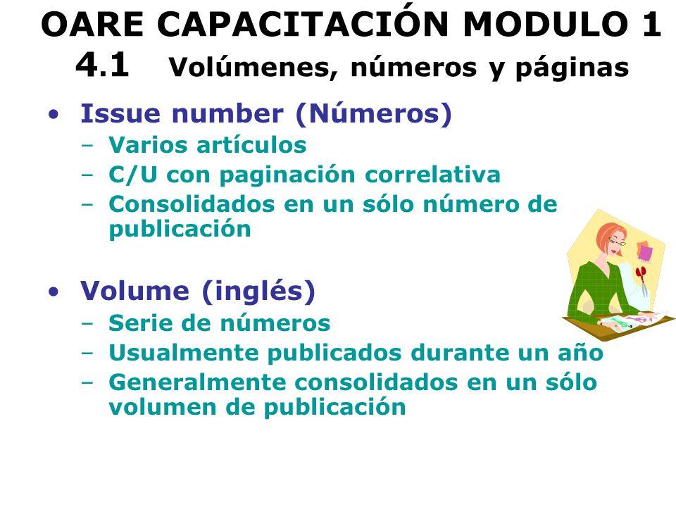 OARE CAPACITACIÓN MODULO 1 7.2 Environmental Science and Pollution Management (CSA) Ingreso de prueba