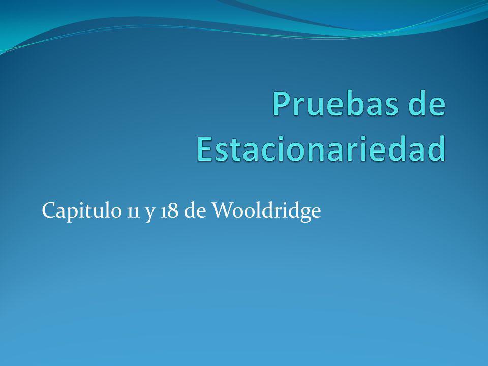 Capitulo 11 y 18 de Wooldridge