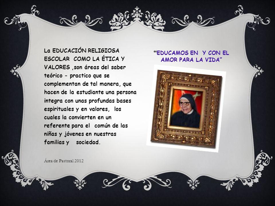 SEGUNDO PERÍODO EDUCACIÒN RELIGIOSA ESCOLAR ÈTICA Y VALORES HUMANOS