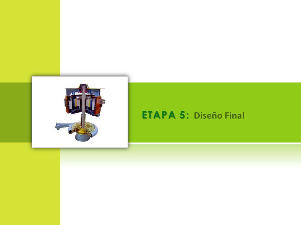 ETAPA 5: Diseño Final