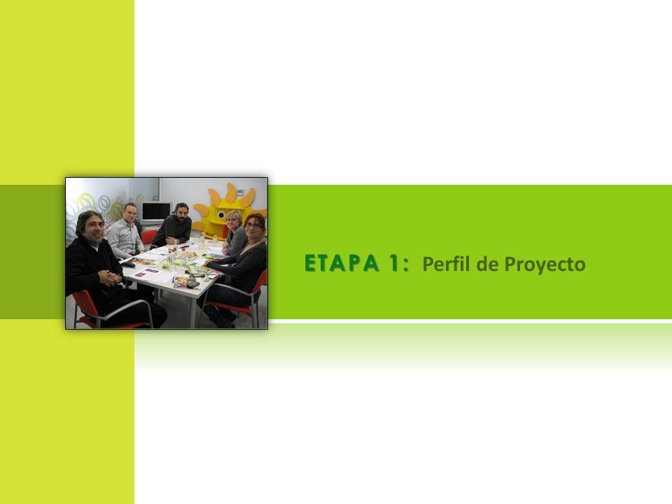 ETAPA 1: Perfil de Proyecto