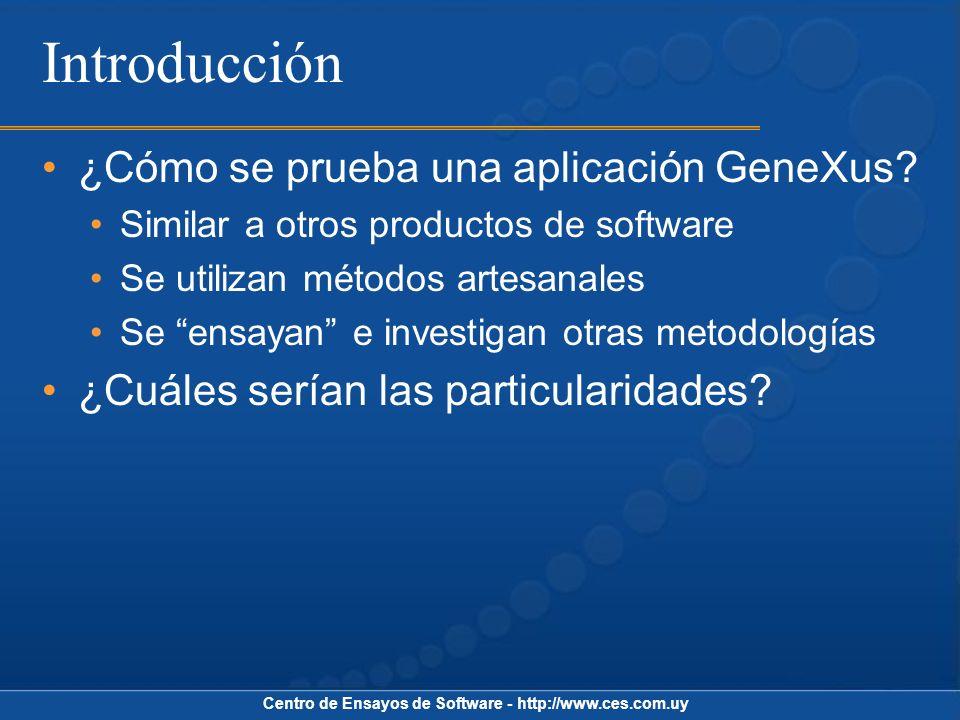 Centro de Ensayos de Software - http://www.ces.com.uy ¿Qué es el testing.