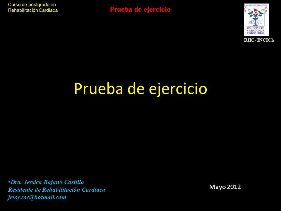 Cicloergómetro vs Banda La frecuencia cardiaca máxima es similar VO2 pico es 6-25% con ejercicio en banda.