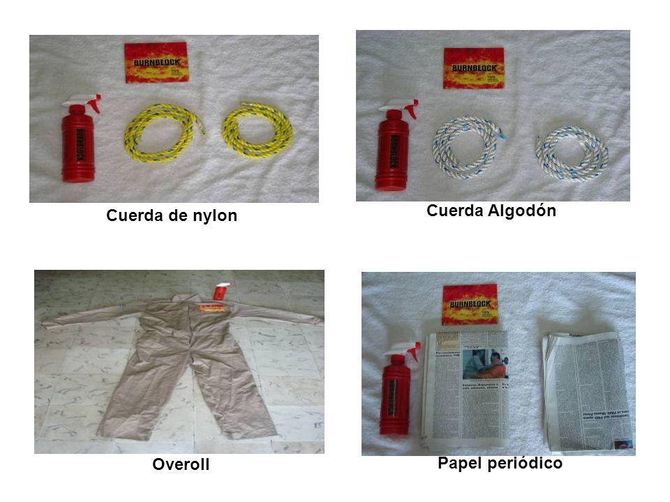 Papel periódico Cuerda Algodón Cuerda de nylon Overoll