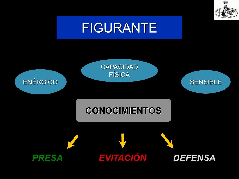 FIGURANTE ENÉRGICO CAPACIDAD FÍSICA SENSIBLE CONOCIMIENTOS PRESAEVITACIÓN DEFENSA