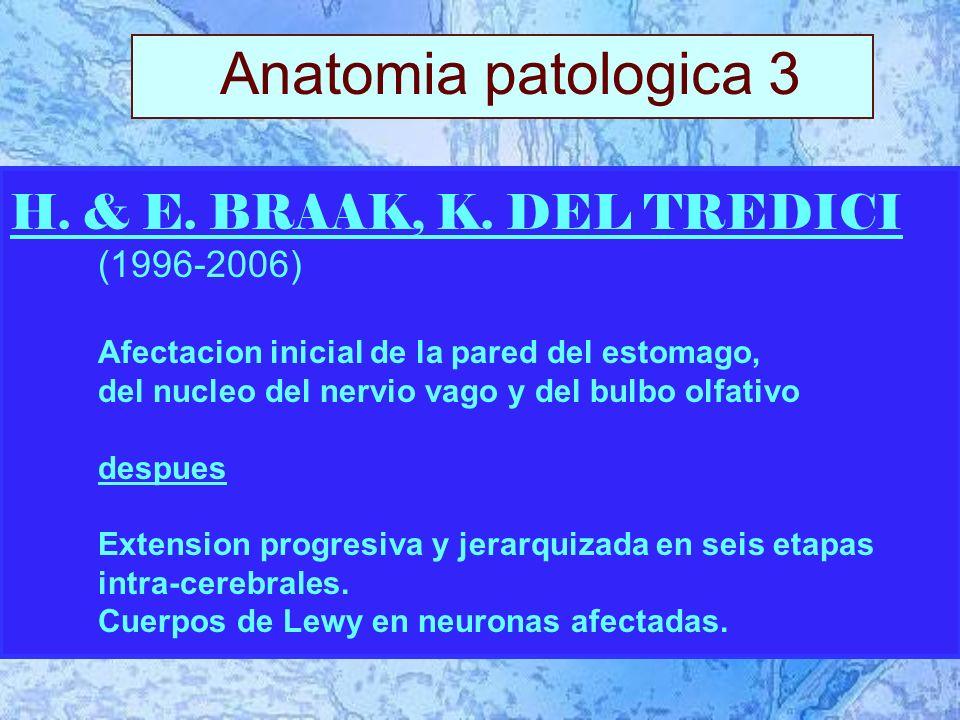 1.Motor central ( = triada clasica ou sindrome parkinsoniano) 3.