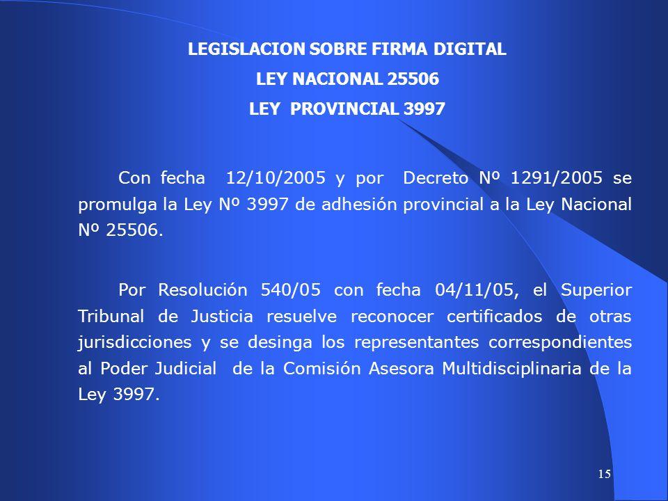 14 CONSTITUCION PROVINCIAL Operatividad de los derechos y garantías (art.