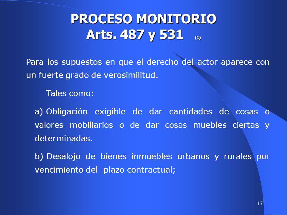 16 CONTENIDO DE LA LEY 4142 PROCESOS ORDINARIO Y SUMARÍSIMO Se mantuvo la limitación de las providencias apelables.