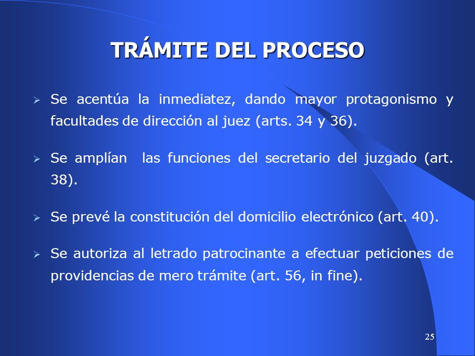 24 METODOS ALTERNATIVOS DE RESOLUCION DE CONFLICTOS Se han incorporado la conciliación y la mediación.