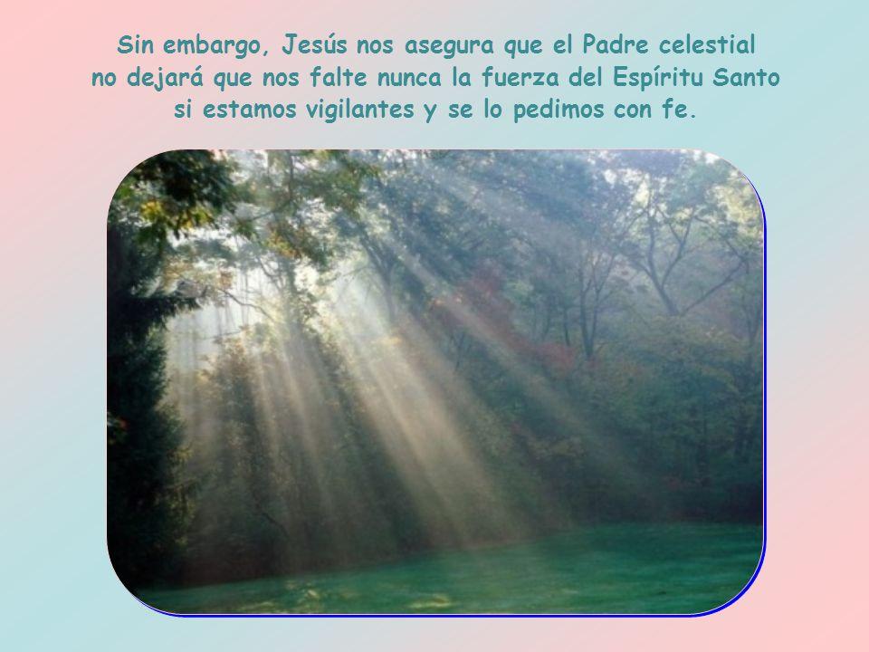 La oración es necesaria porque hay dos tentaciones a las que estamos más expuestos en esos momentos: por una parte, creer que podemos arreglárnoslas p