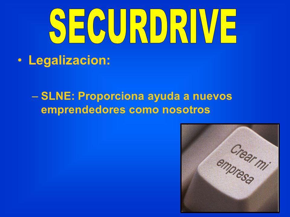 Legalizacion: –SLNE: Proporciona ayuda a nuevos emprendedores como nosotros