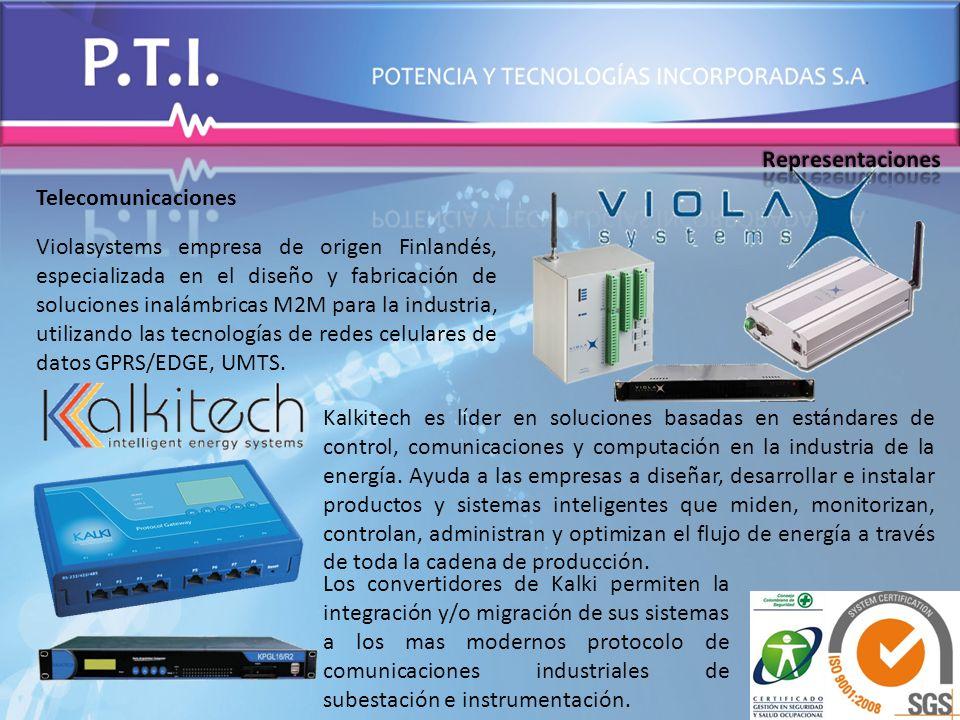 Telecomunicaciones Violasystems empresa de origen Finlandés, especializada en el diseño y fabricación de soluciones inalámbricas M2M para la industria