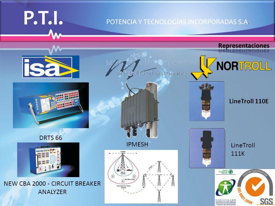 DRTS 66 NEW CBA 2000 - CIRCUIT BREAKER ANALYZER IPMESH LineTroll 110E LineTroll 111K