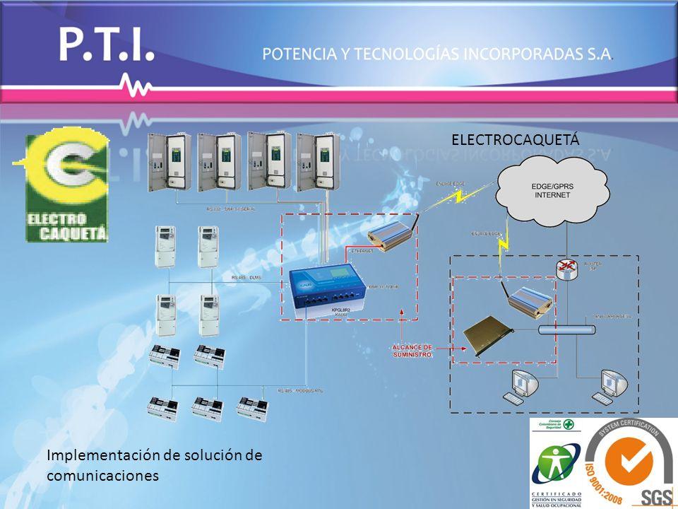 Implementación de solución de comunicaciones ELECTROCAQUETÁ