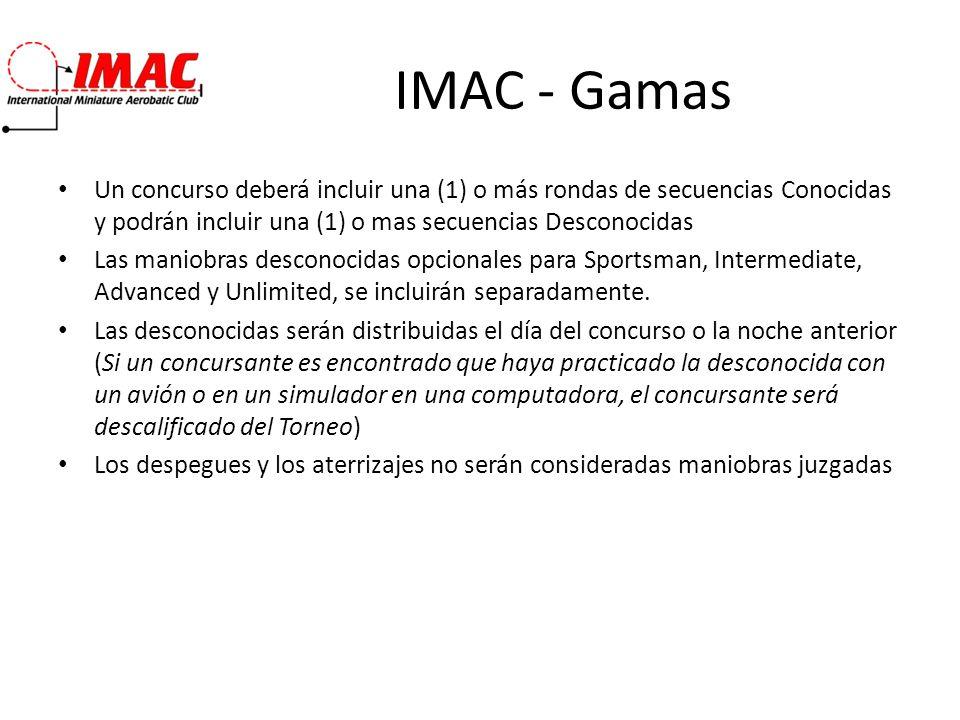 IMAC – Espacio Aereo Definición : El eje X es el eje principal de vuelo, paralelamente a la línea de vuelo.