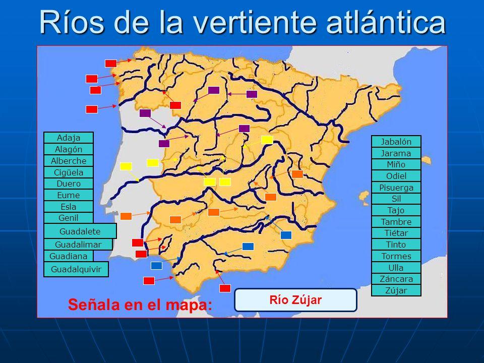 NO ES CORRECTO Prueba otra vez ¿Qué sabes de los ríos de España?