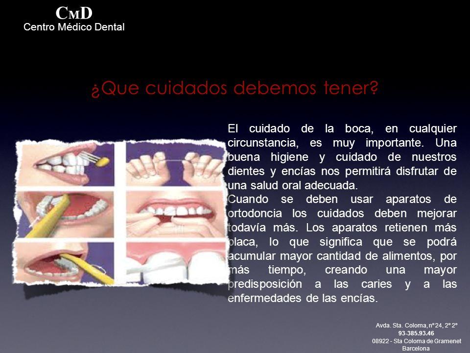 El cuidado de la boca, en cualquier circunstancia, es muy importante. Una buena higiene y cuidado de nuestros dientes y encías nos permitirá disfrutar