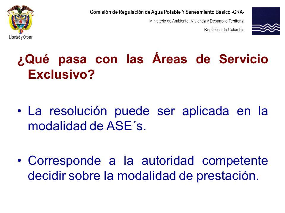 Comisión de Regulación de Agua Potable Y Saneamiento Básico -CRA- Ministerio de Ambiente, Vivienda y Desarrollo Territorial República de Colombia ¿Qué