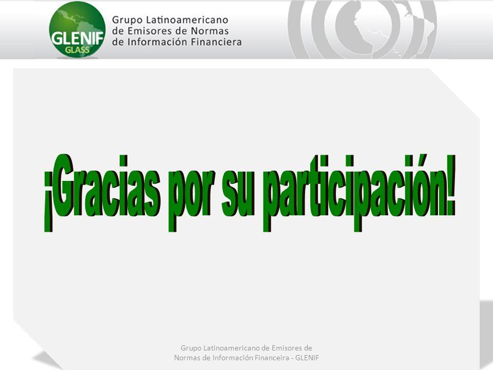 Grupo Latinoamericano de Emisores de Normas de Información Financeira - GLENIF