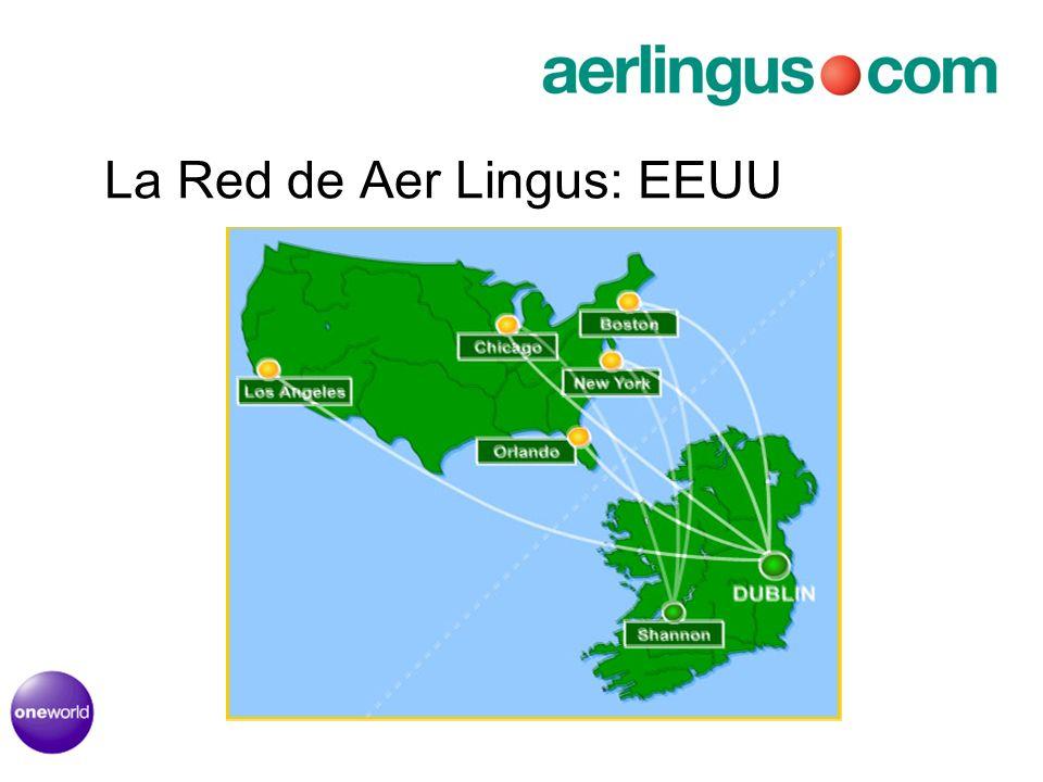 La Red de Aer Lingus: EEUU