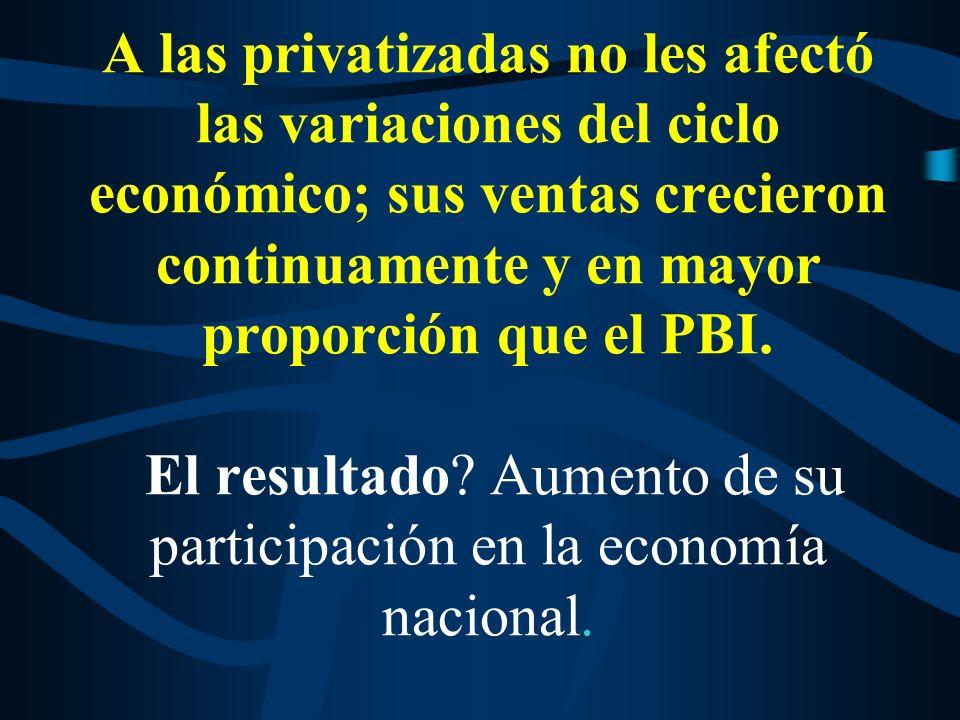 Primer efecto del aumento del precio relativo de las tarifas: Menor competitividad de los sectores transables y distorsión de las rentabilidades en el conjunto de la economía.