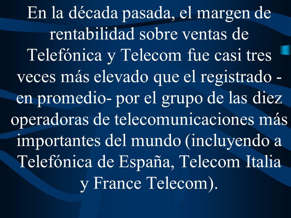 En el año 2000 Repsol registró en España un margen de rentabilidad sobre ventas del 5,3%, mientras que en Argentina YPF obtuvo una tasa de ganancia del 14,2%.