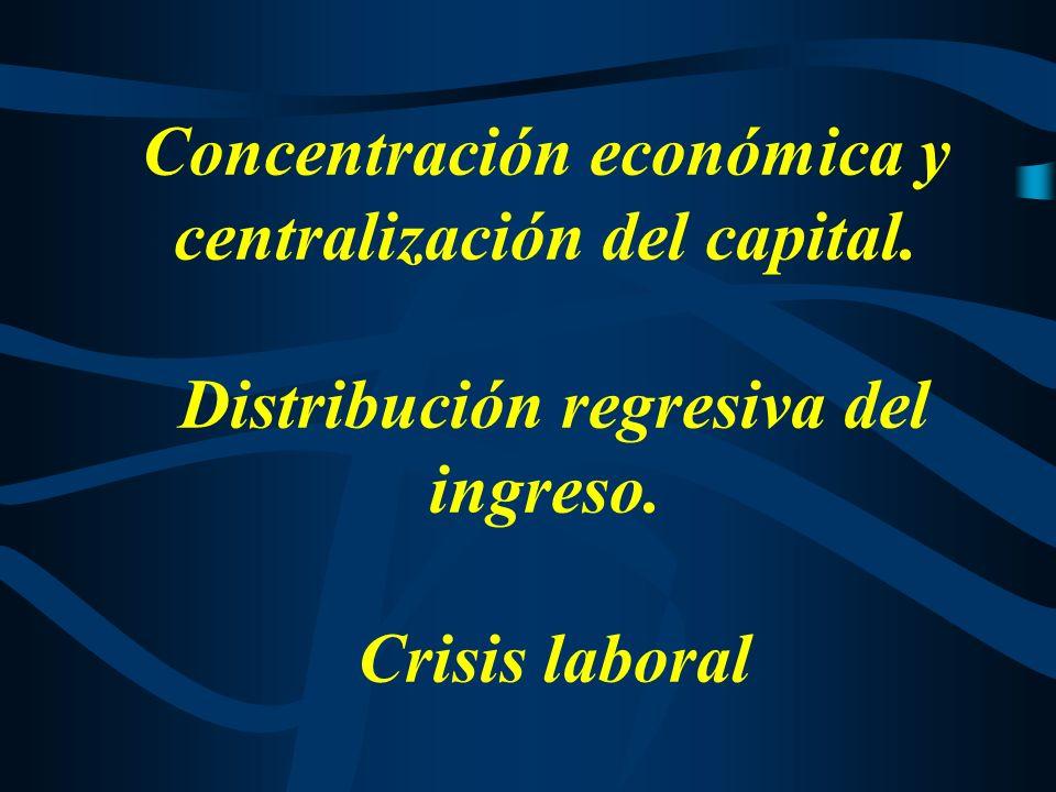 En suma, las privatizaciones fueron centrales en la consolidación de ciertos rasgos característicos de la economía argentina de los últimos veinticinco años: