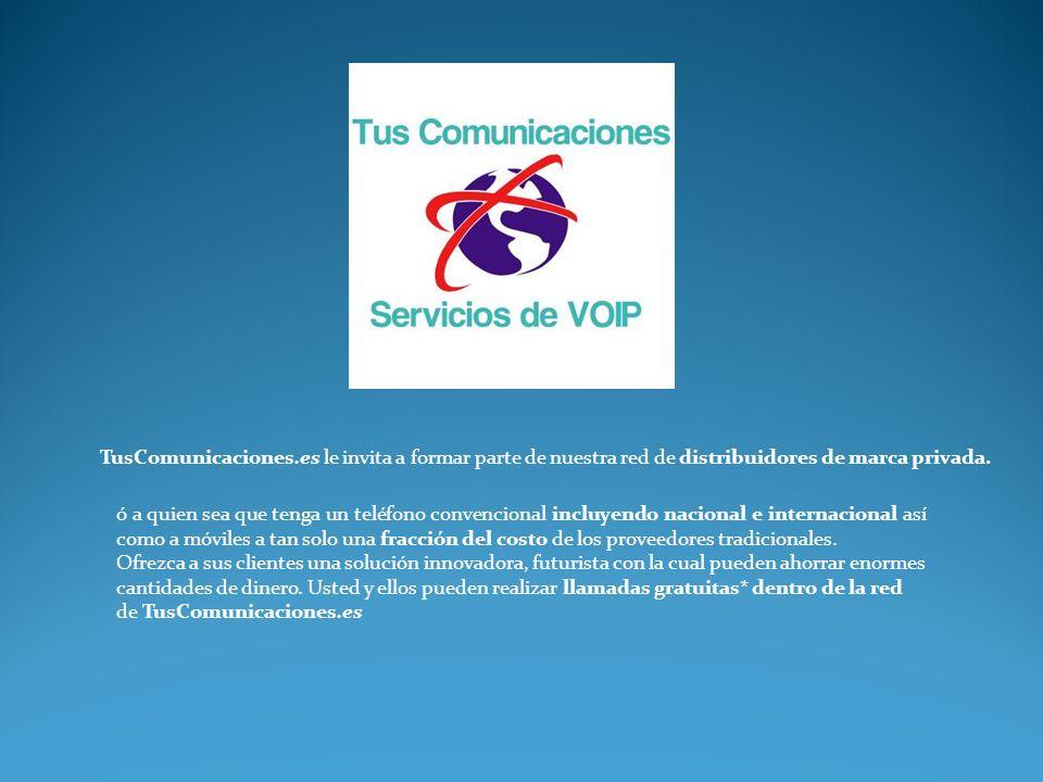 TusComunicaciones.es le invita a formar parte de nuestra red de distribuidores de marca privada.