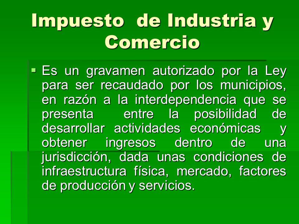 Marco Legal Ley 14 de 1983 define el hecho generador.