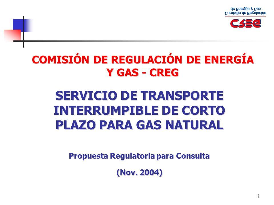 32 Mayores informes Comisión de Regulación de Energía y Gas – CREG Cra.