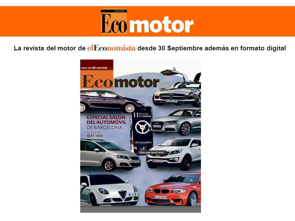 La revista del motor de desde 30 Septiembre además en formato digital