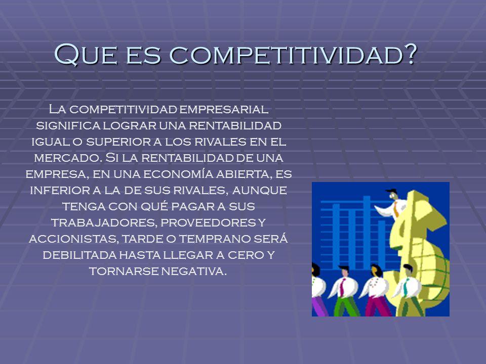Factores decisivos el comercio exterior es la principal vía de generación de ingresos y divisas de una nación y uno de los principales indicadores de su nivel de competitividad.