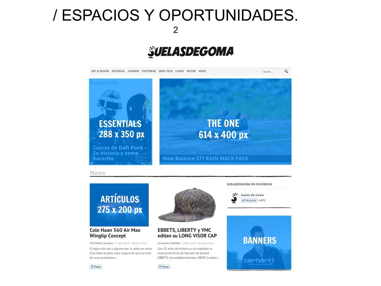/ ESPACIOS Y OPORTUNIDADES. 2