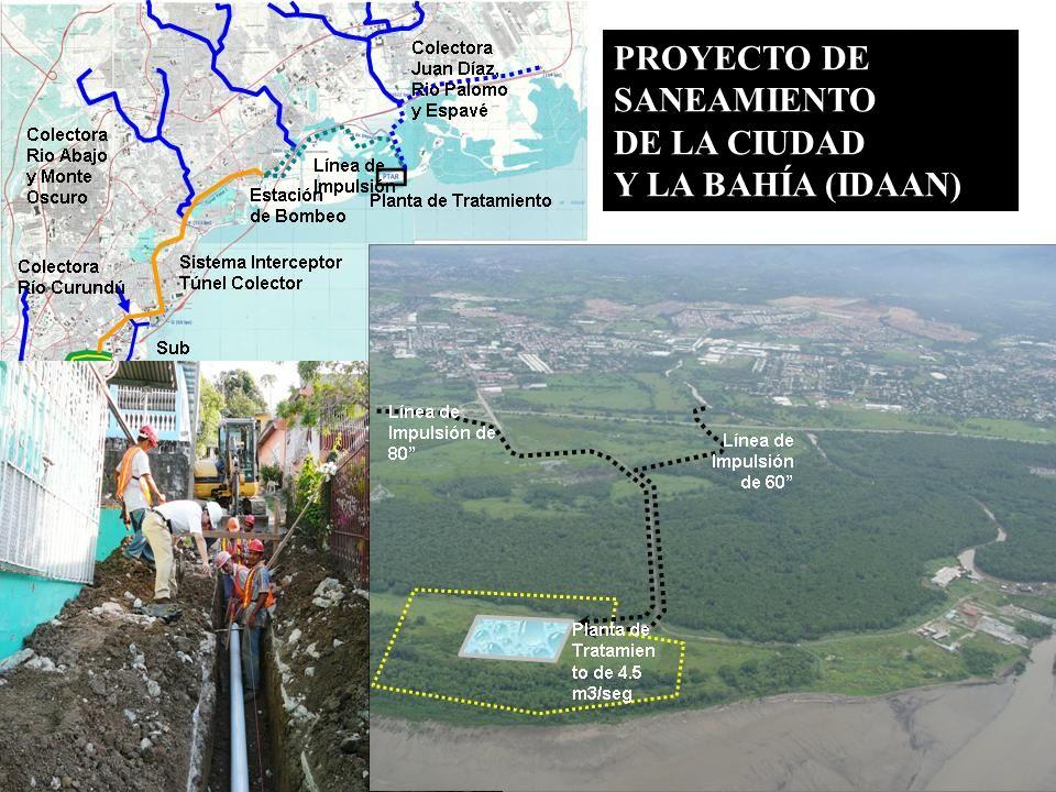 PROYECTO DE SANEAMIENTO DE LA CIUDAD Y LA BAHÍA (IDAAN)