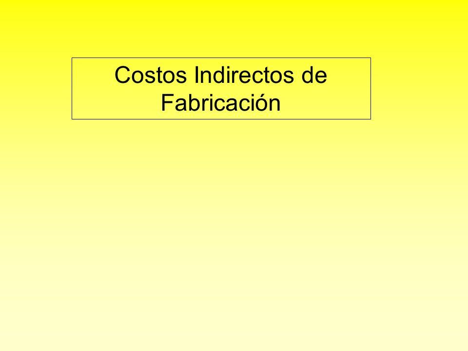 Costos indirectos de fabricación reales Por lo general, se incurre diariamente en los costos indirectos de fabricación reales y se registran en forma periódica en los libros de mayor, general y auxiliares